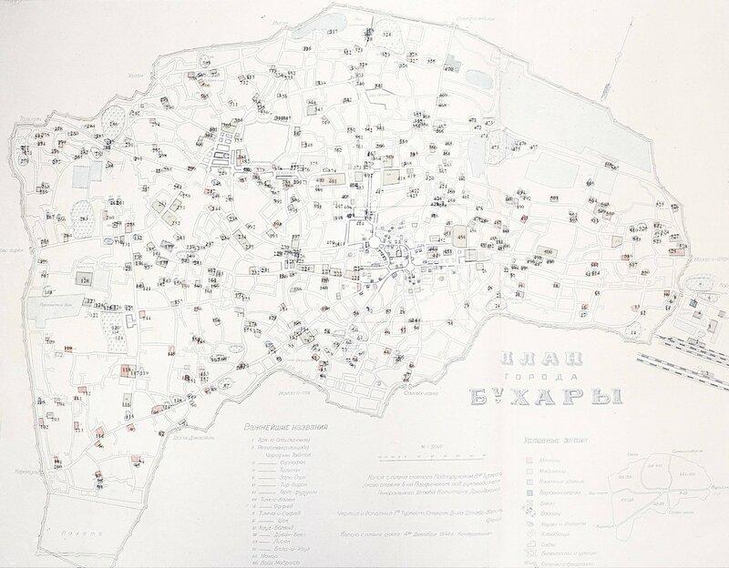План города  Бухары Парфёнова1.jpg