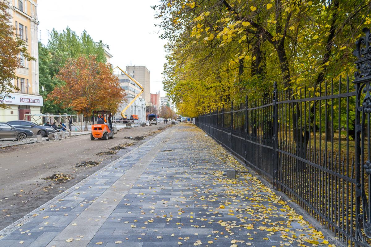 Строительство пешеходной зоны Саратов фото 6