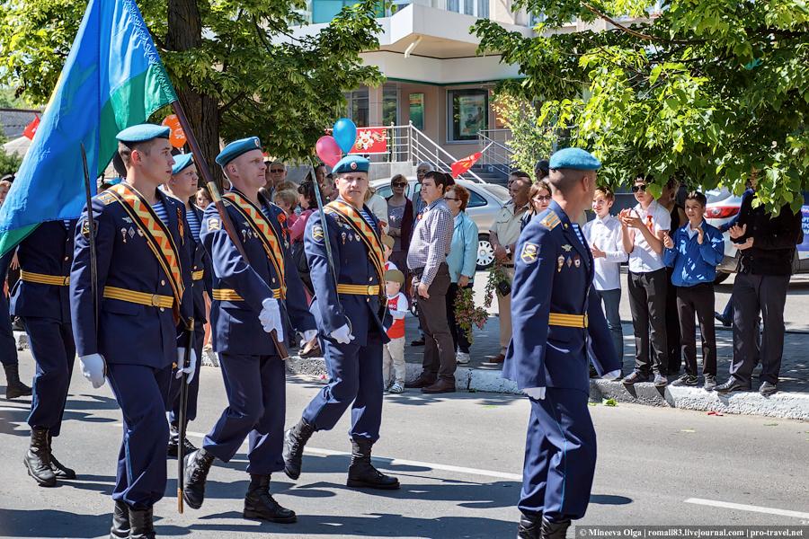 Парад Победы в Анапе