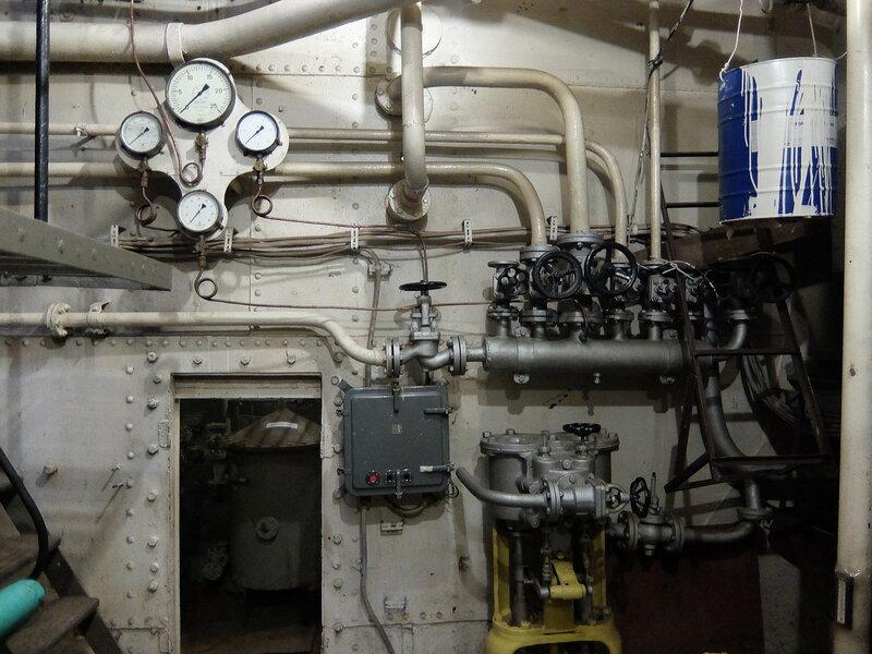 Иркутск - Музей-ледокол Ангара - Машинное отделение