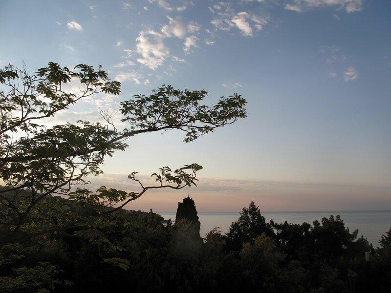 Восход в весеннем Симеизе