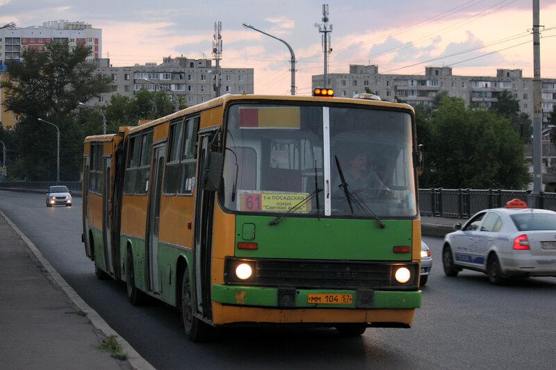 Икарус в городе Орёл