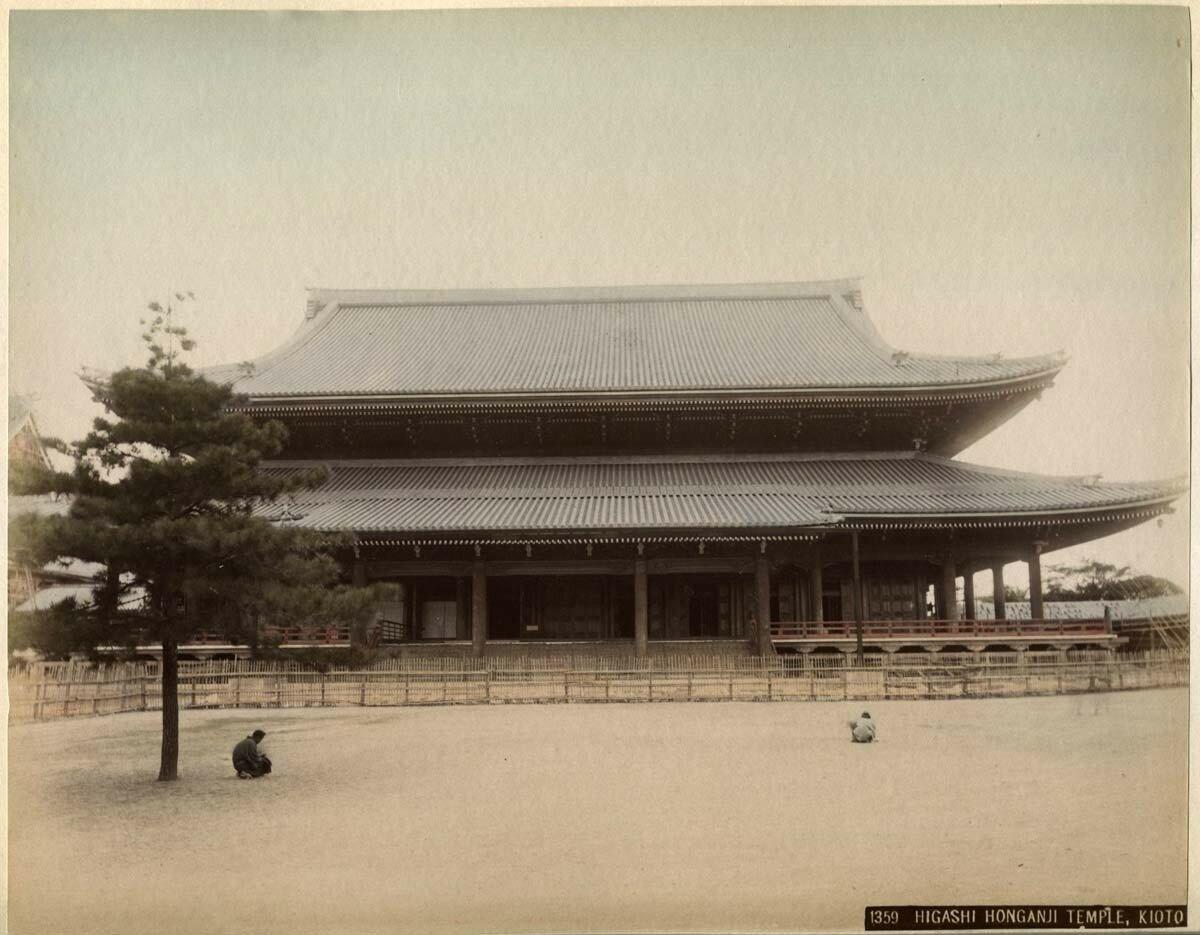Киото. Храм Восток Хонгандзи