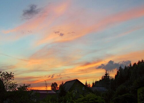 Закат августа