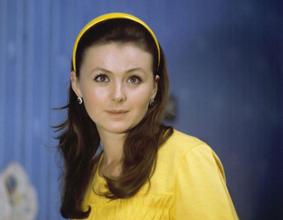 Наталья Селезнева. 1974 год
