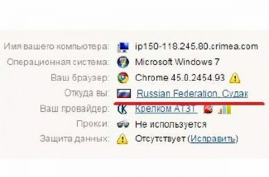 В Чонгаре российская Генпрокуратура блокирует страницы ПС в соцсетях
