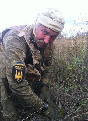 """С позывным """"Дракула"""": Ветеран Афганистана и первой Чеченской войны добровольцем стал на защиту Украины на Донбассе"""