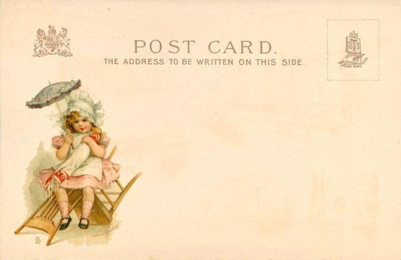 Старинные почтовые открытки картинки