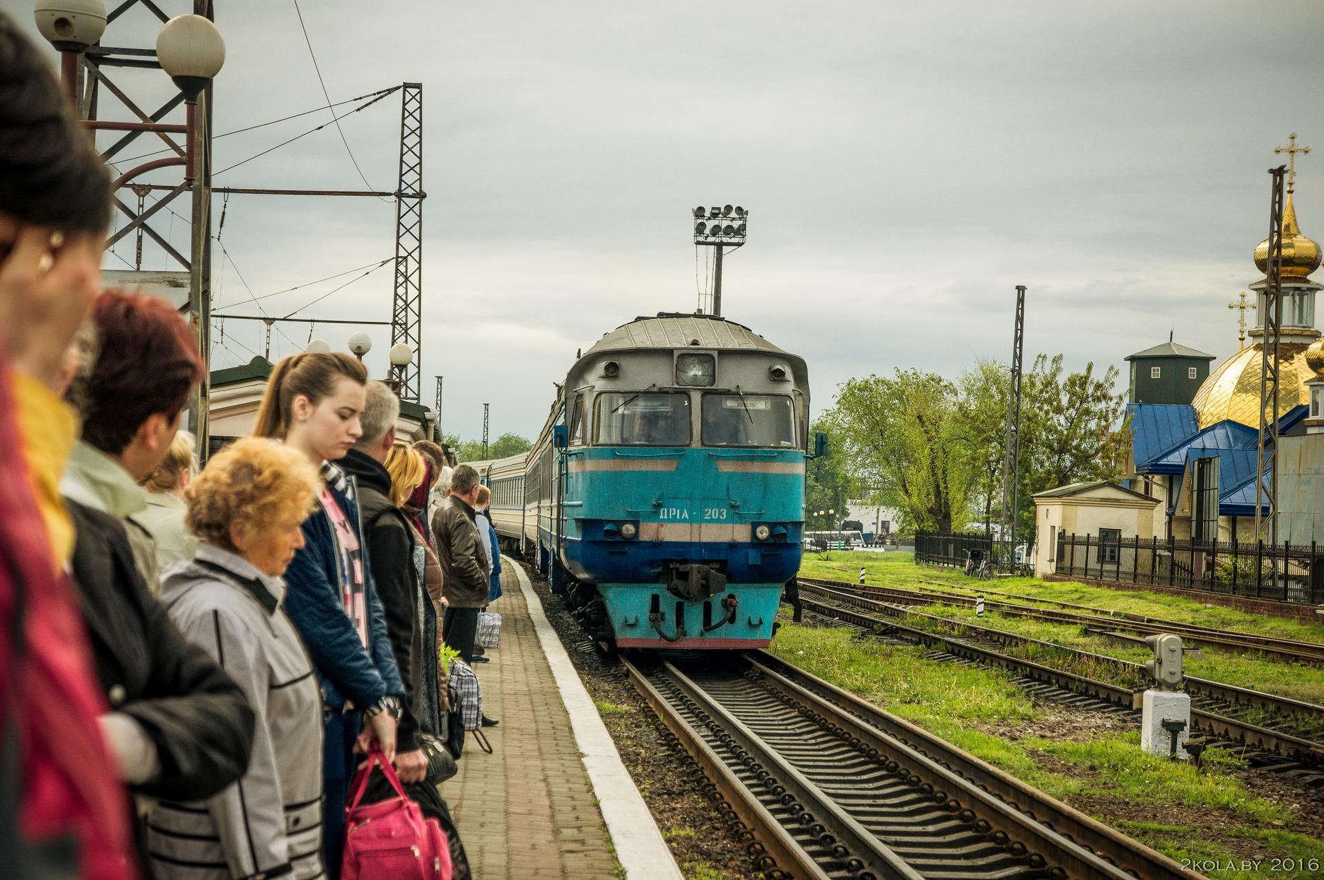 Дизель поезд Ковель-Львов
