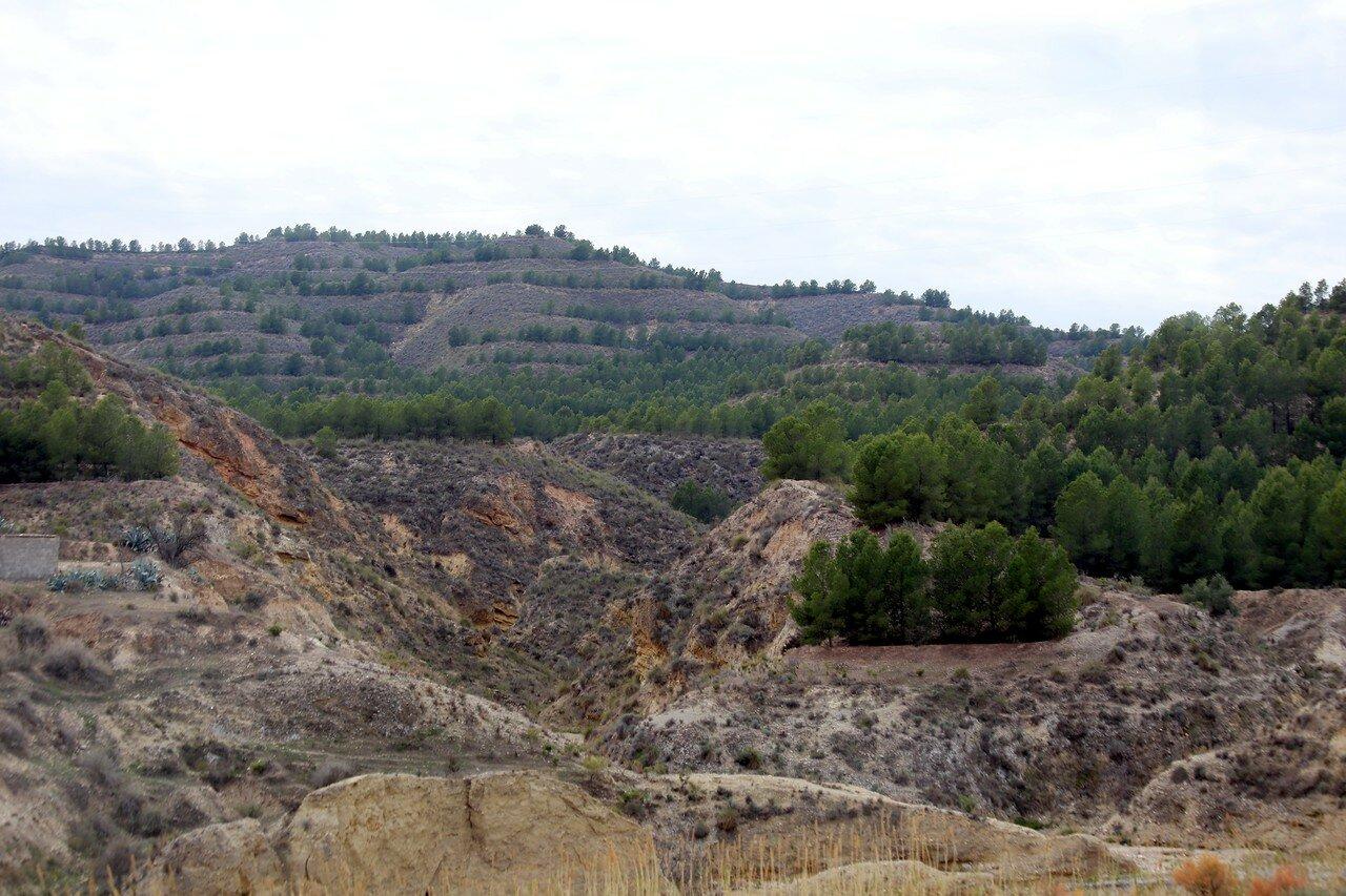 Almeria province landscapes