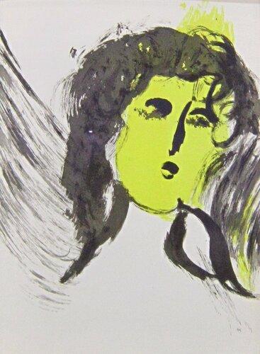 Марк Шагал. Ангел.