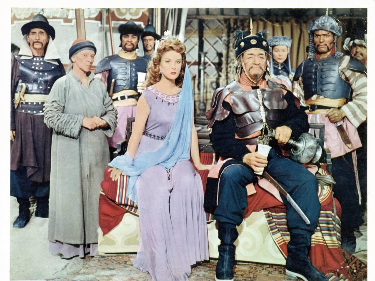 «Завоеватель» «Завоеватель», несомненно, один из самых странных фильмов Джона Уэйна (особенно потому