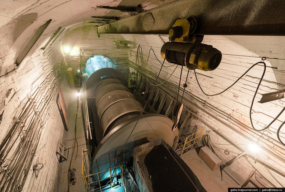 Подземный дробильный комплекс: