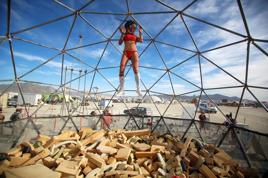 Горящий человек Burning Man – всепоглощающее безумие