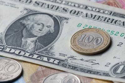 Курс доллара ушел ниже 64 руб. наоткрытии торгов