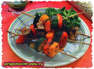 Микс из овощей на гриле