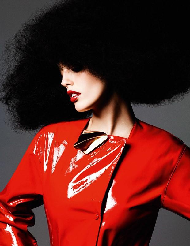 Emily DiDonato for Vogue Paris by Ben Hassett