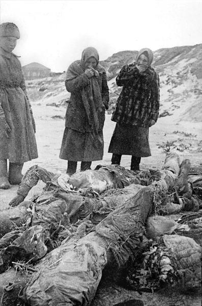 Хутор Вертячий Сталинградской области. Советские военнопленные, умершие от голода в концлагере.jpg