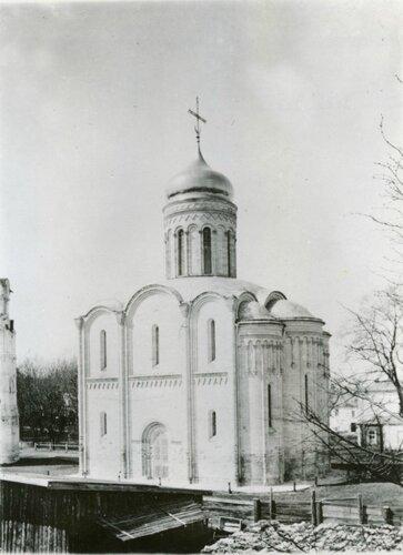Рождественский собор Рождественского монастыря во Владимире. Начало ХХ века.