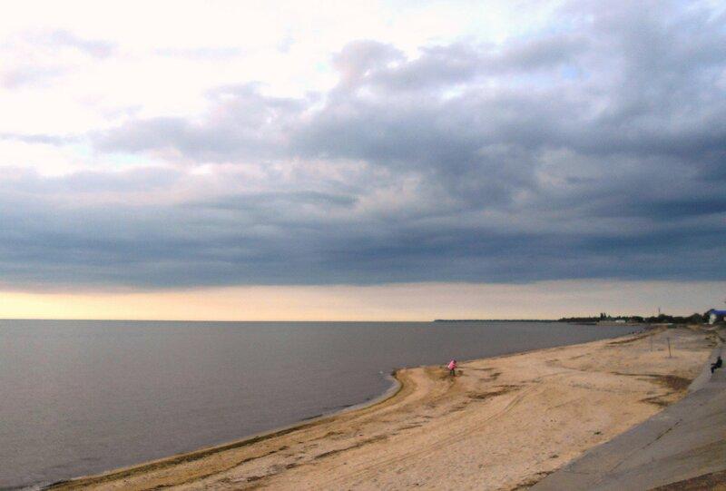 Вечером в мае, на Азовском берегу ... DSCN5520.JPG