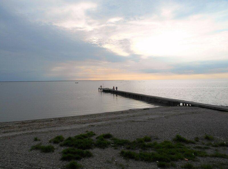 Причал, вечер, море Азовское ... DSCN5524.JPG