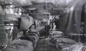 Санитарный поезд Великой Княгини Елизаветы Федоровны. Палата для легкораненных