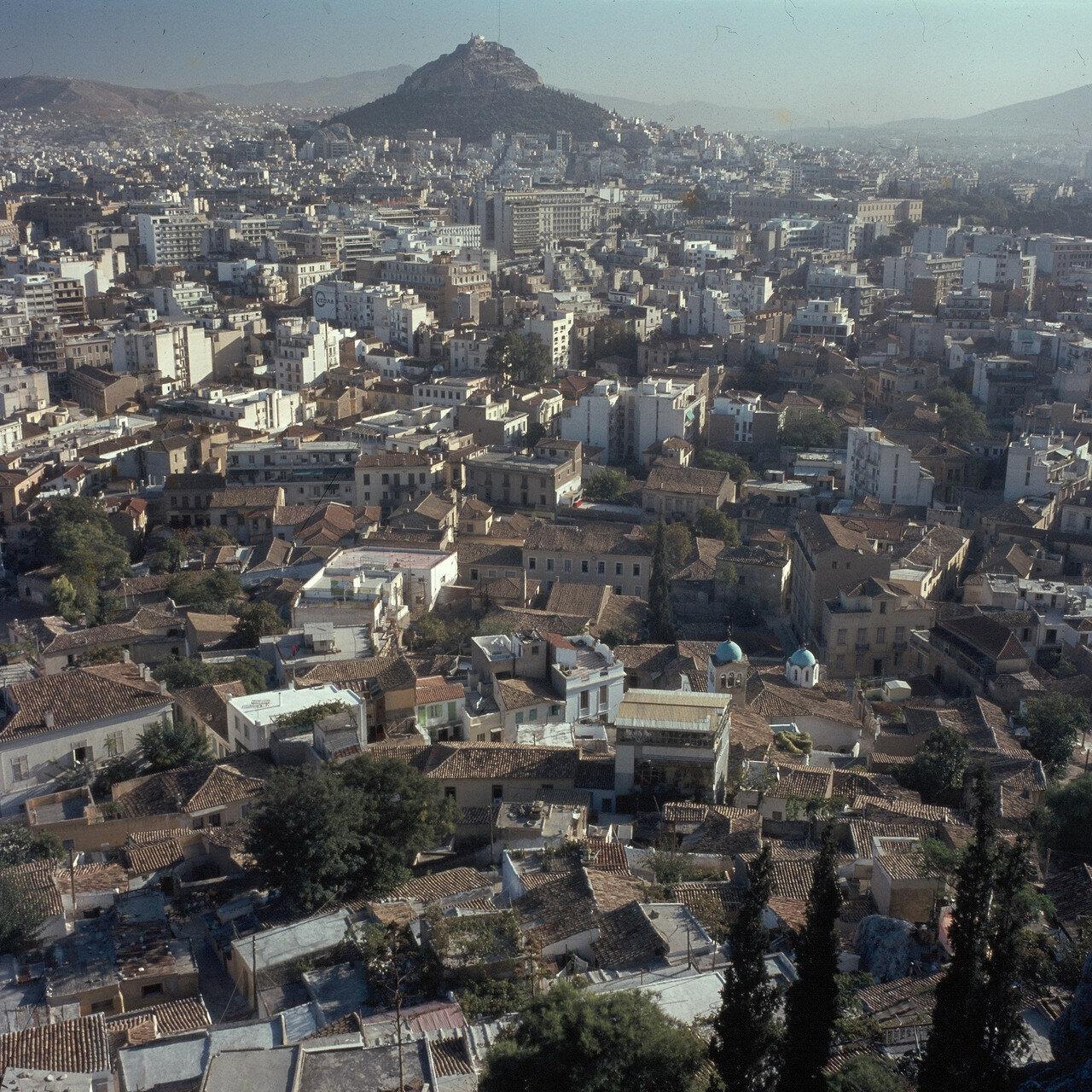 Афины. Вид на Акрополь
