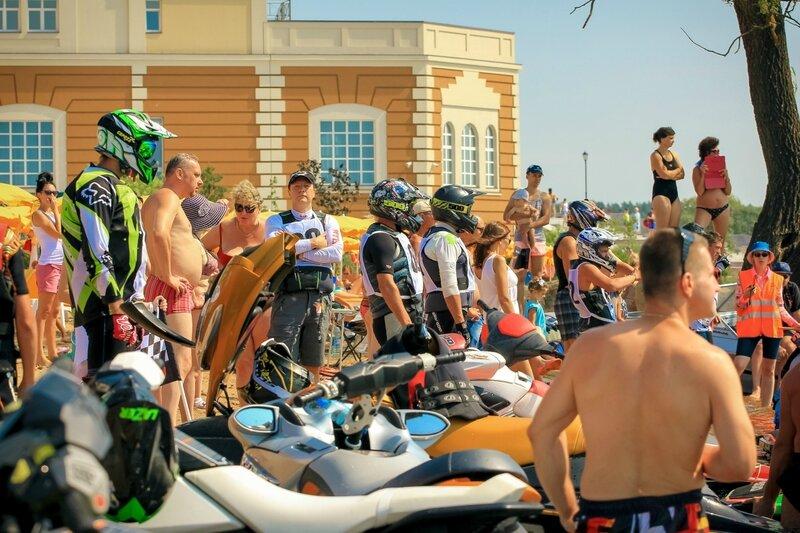 Любительские соревнования на гидроциклах