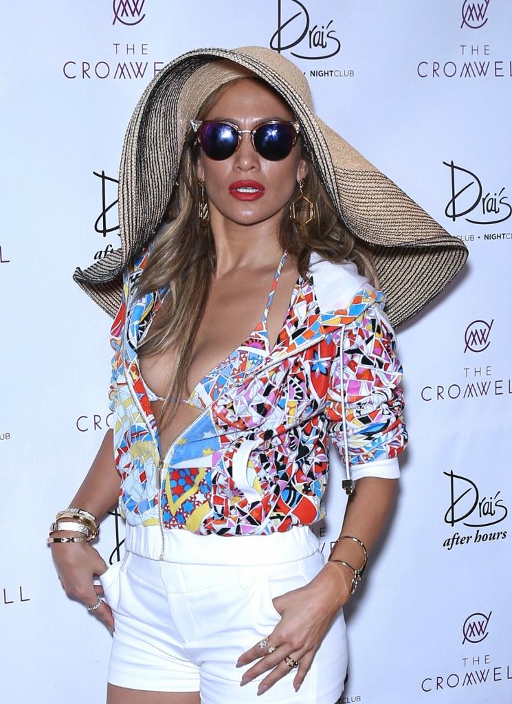 Jennifer Lopez Hosts
