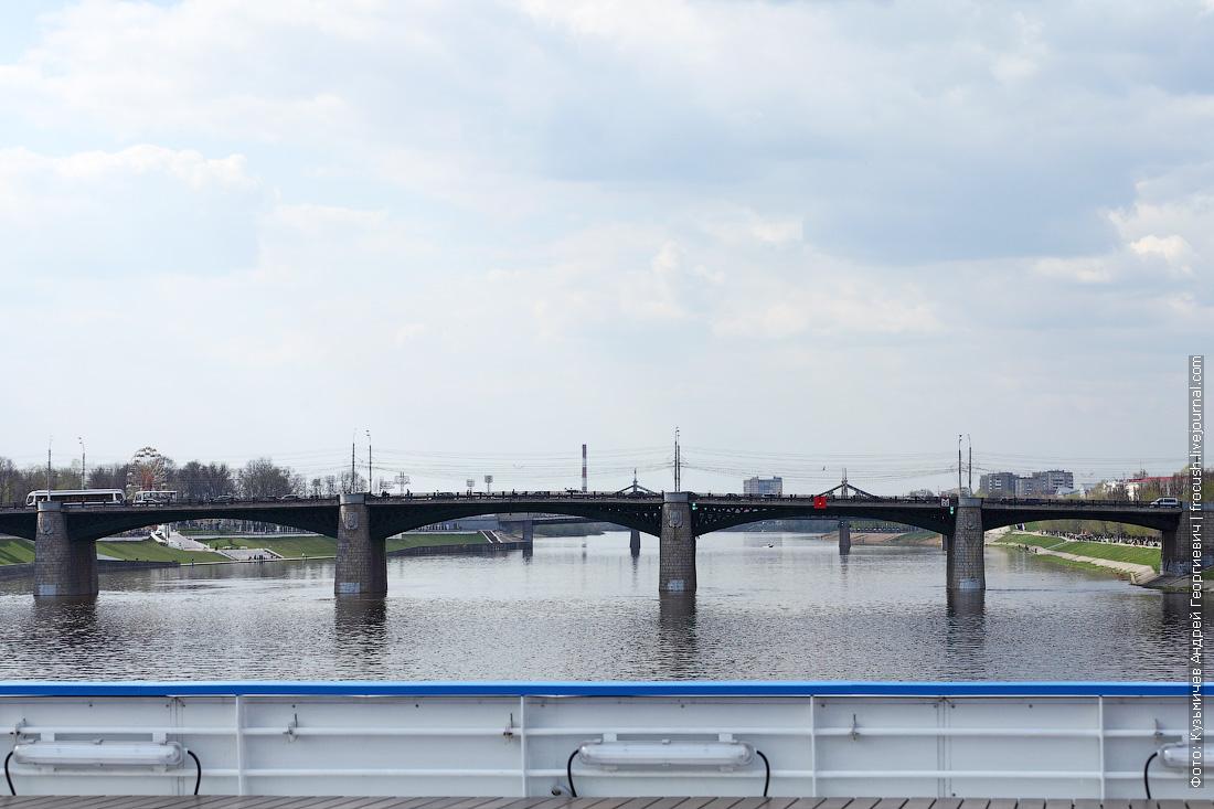 фото Новый Волжский мост Твери