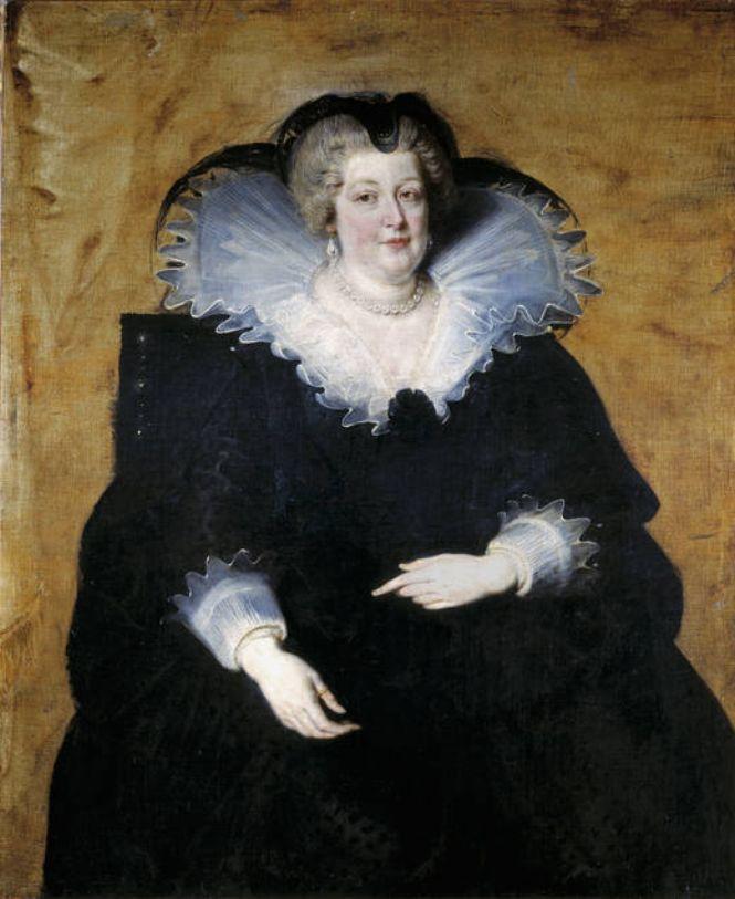 Рубенс. Мария Медичи, вдовствующая королева Франции. (1622-1625) Marie de Medici, Queen of France