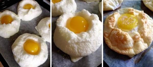 Яйцо в облаке