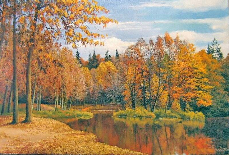 Былич Александр_ Осень золотая