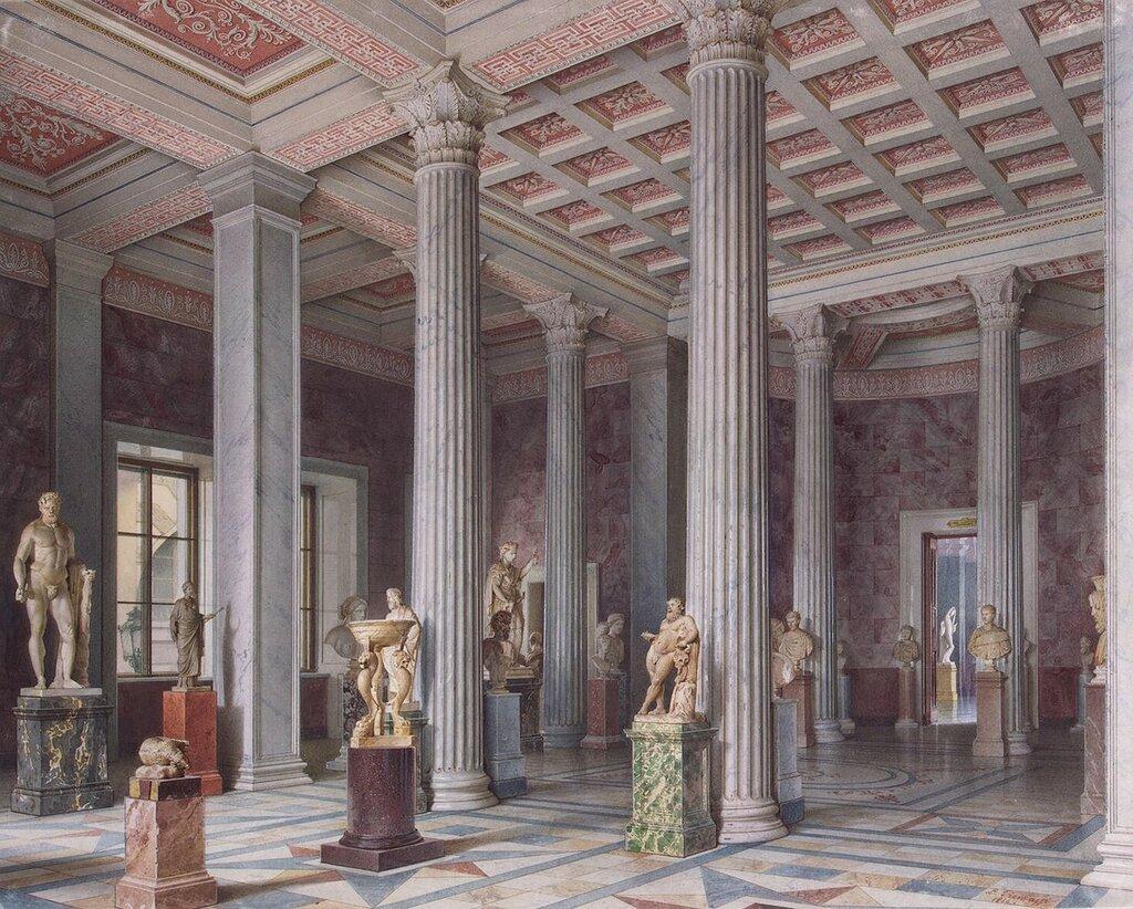 Премацци-Луиджи-Виды-залов-Нового-Эрмитажа.-Зал-древней-скульптуры.jpg