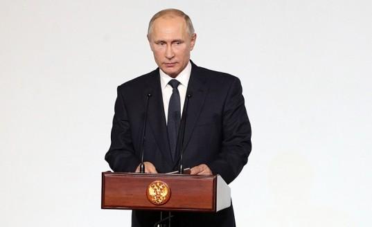 Путин выступит на приеме в честь Героев Отечества