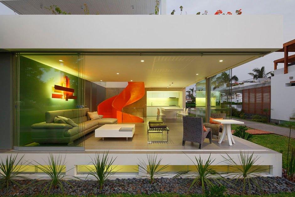 Прозрачные дома