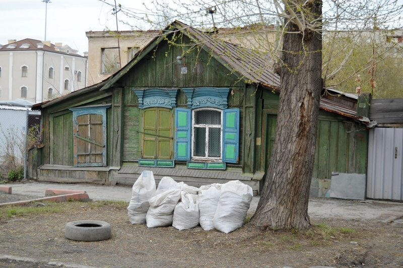 Челябинск. Исторический центр.