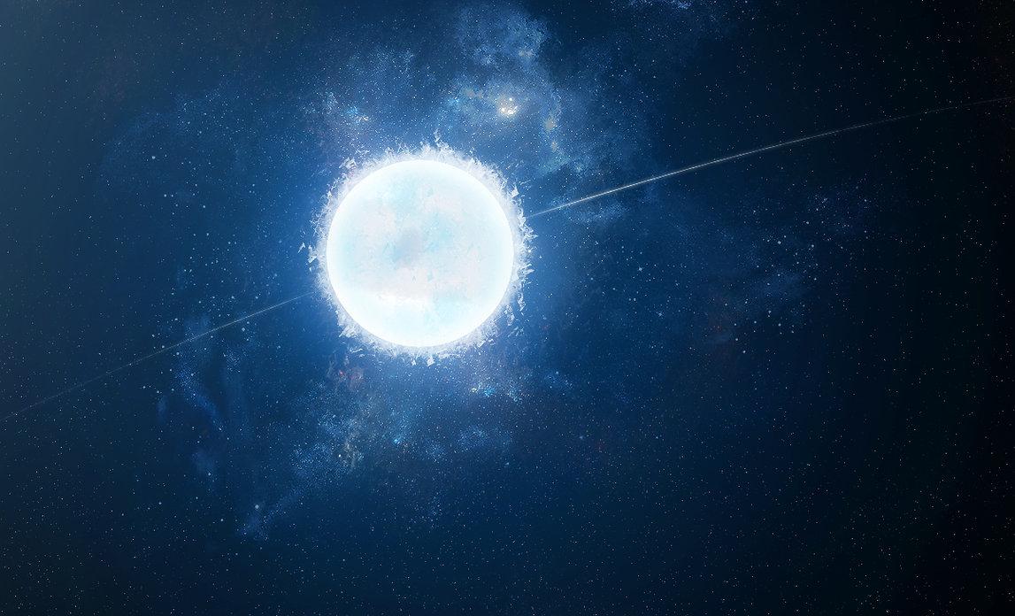 Звезды белого цвета в космосе название