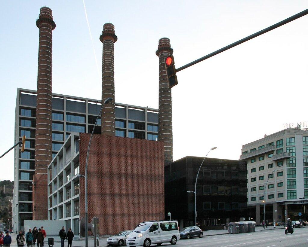 Барселона. Старая электростанция Mata-AEG