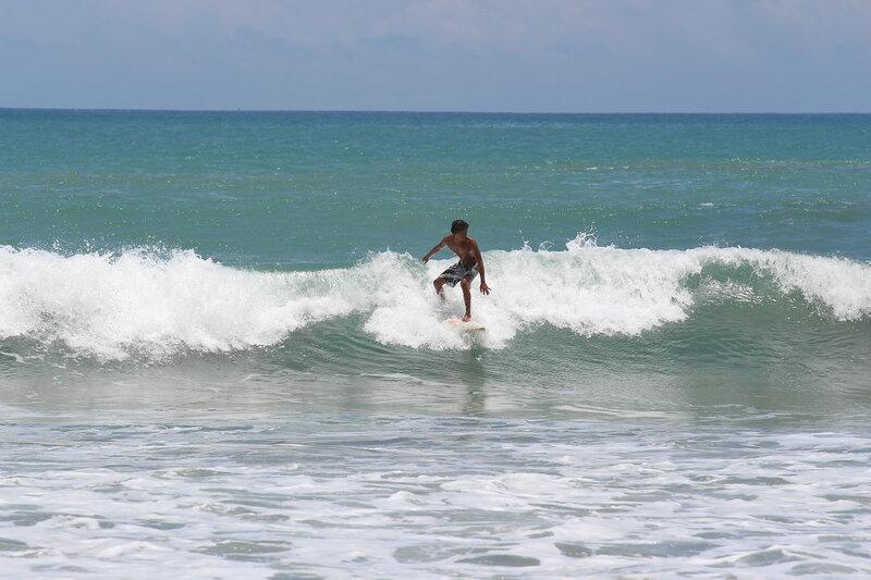 Океан и серфинг на Бали