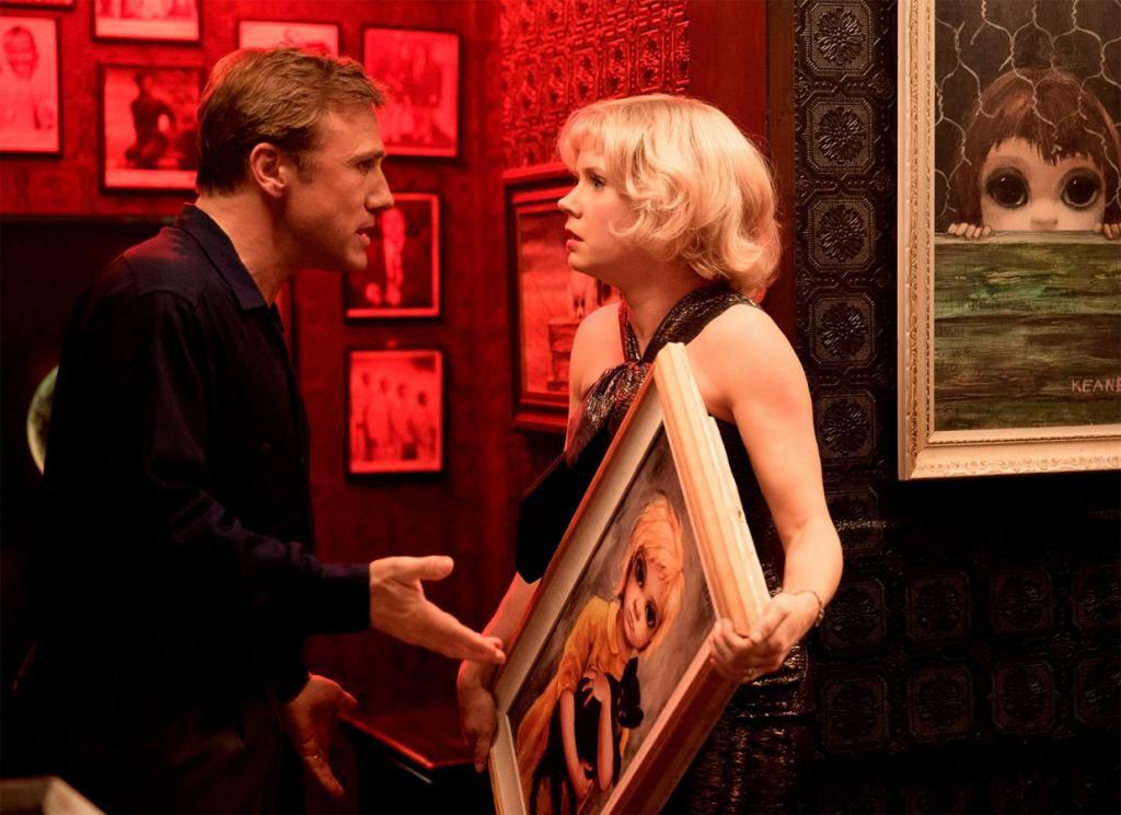 Маргарет Кин – художница, знаменитая на весь мир своими фантастическими портретами, в которых она ри