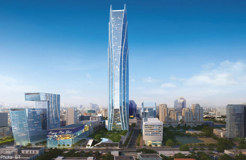 11. Rama IX Super Tower в Бангкоке, Таиланд Сдача объекта, который должен стать самым большим офисны