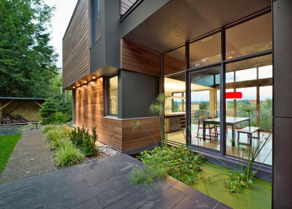 Проект дома T House от Natalie Dionne