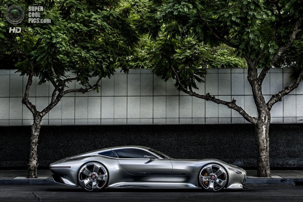Из игры в реальность: Концепт-кар Mercedes-Benz