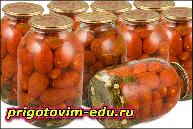 Несколько рецептов консервирования помидор