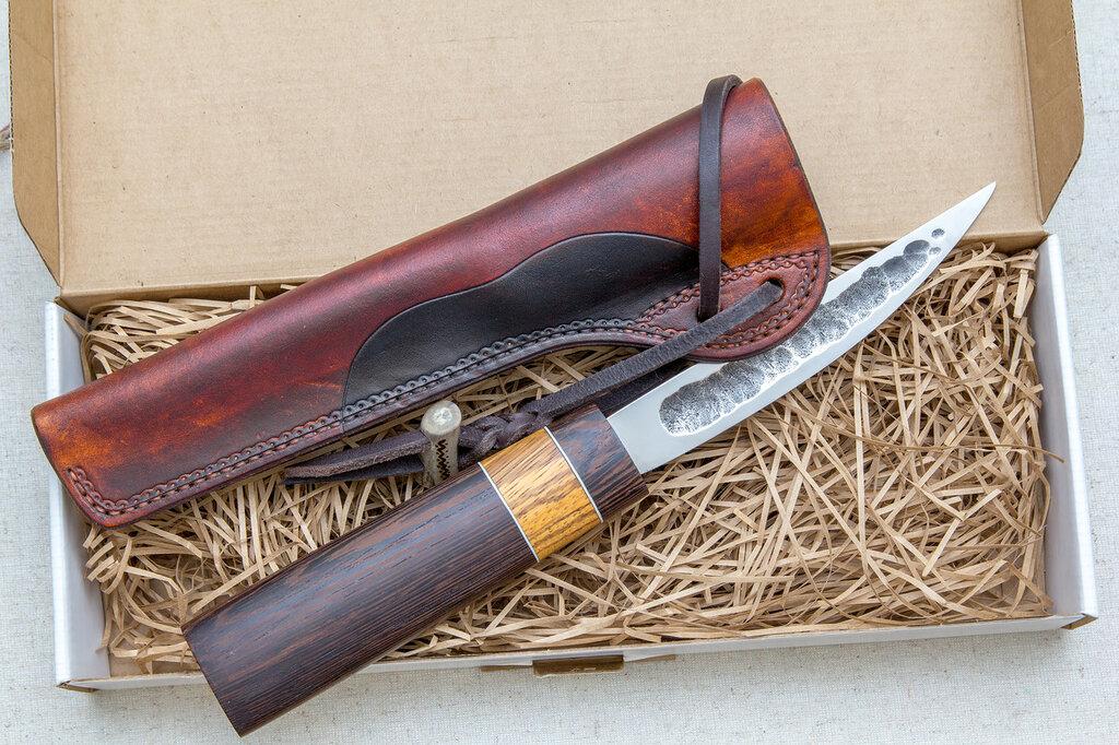 Как сделать ножны для якутского ножа