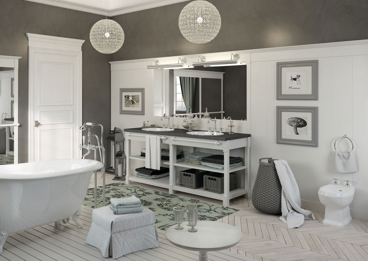 Appartamento a Parigi, Minacciolo, английский стиль интерьера, элегантная квартира в Париже, элегантный дизайн интерьера фото