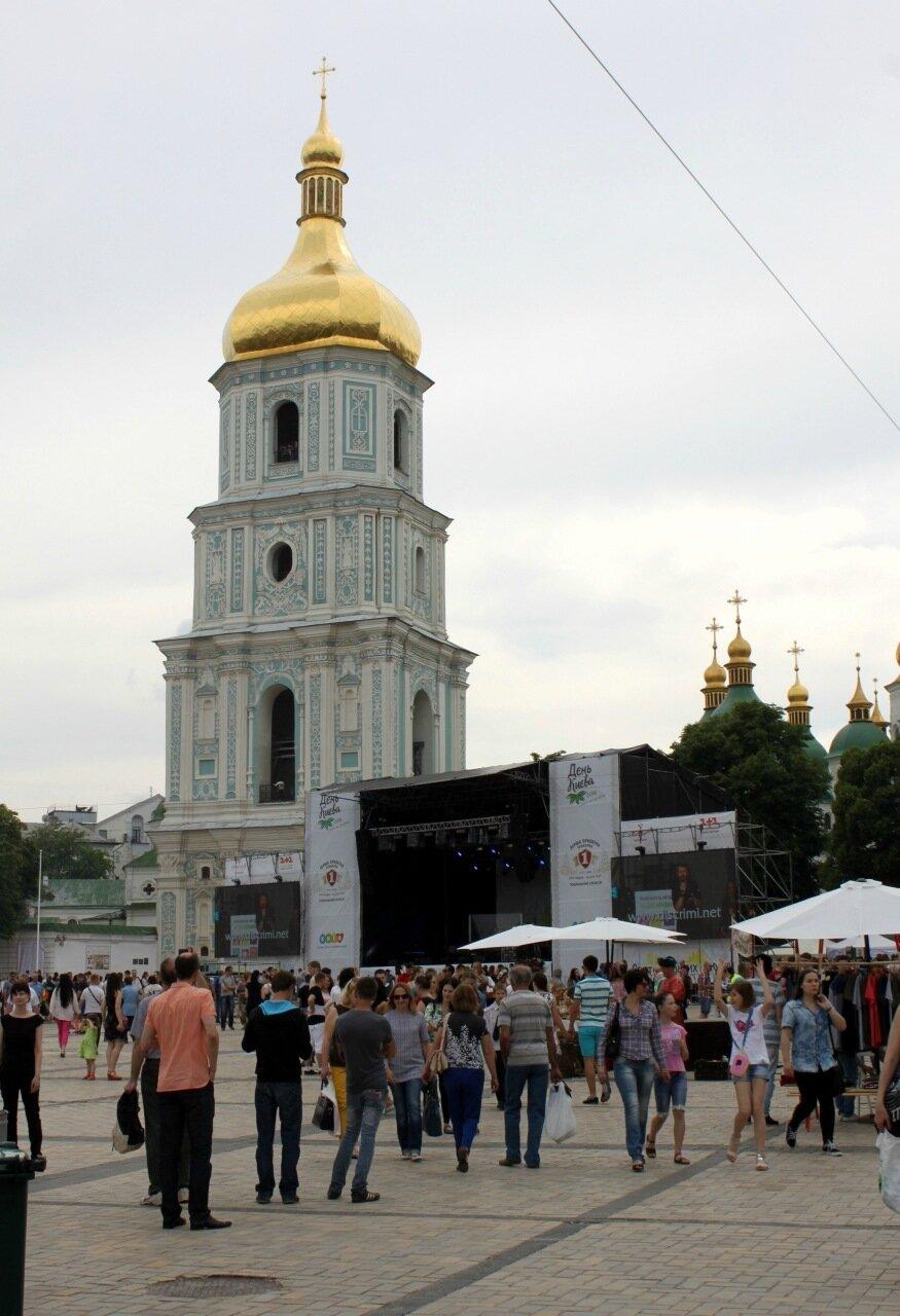 Главная сцена Дня Киева 2016