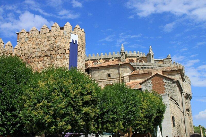 Авила, крепостная стена (Avila, city wall)
