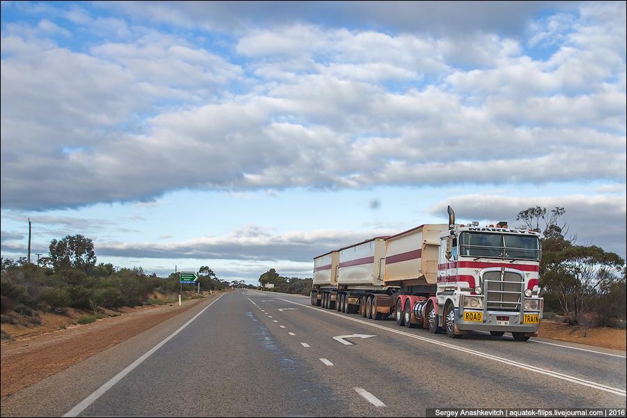 Знаете, какой самый длинный в мире автопоезд был зафиксирован в Австралии?